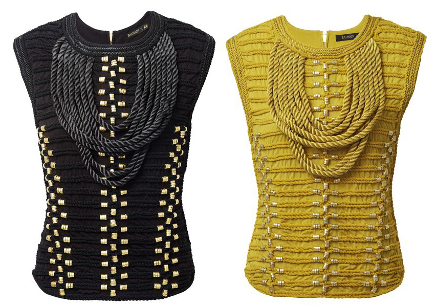 Balmain-x-HM-Embroidered-Tops