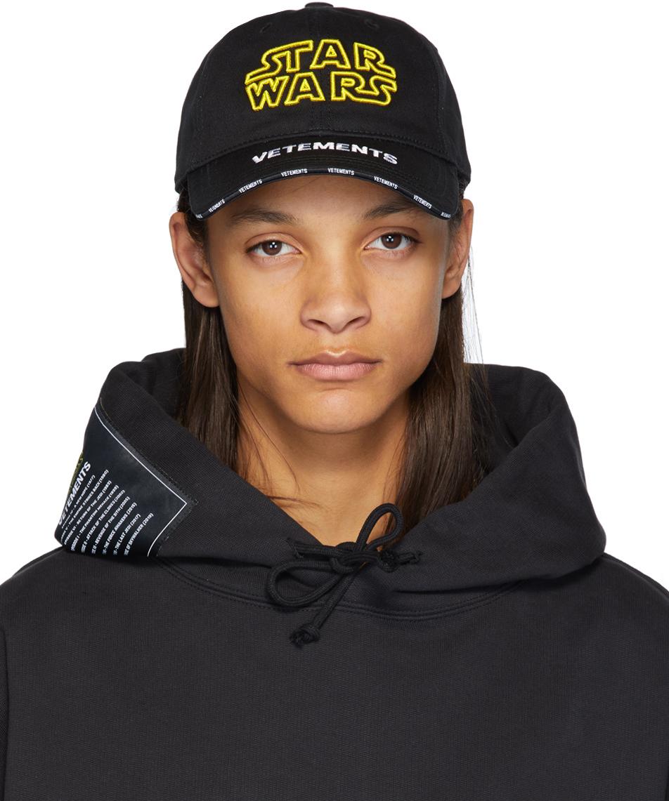 vetements-black-star-wars-edition-logo-cap